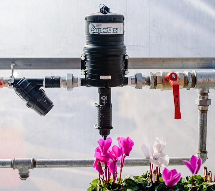 Dosatori proporzionali irrigazione interno serra for Irrigazione serra